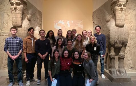 Art History class visits New York City