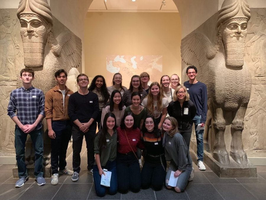 Art History class visits New York City