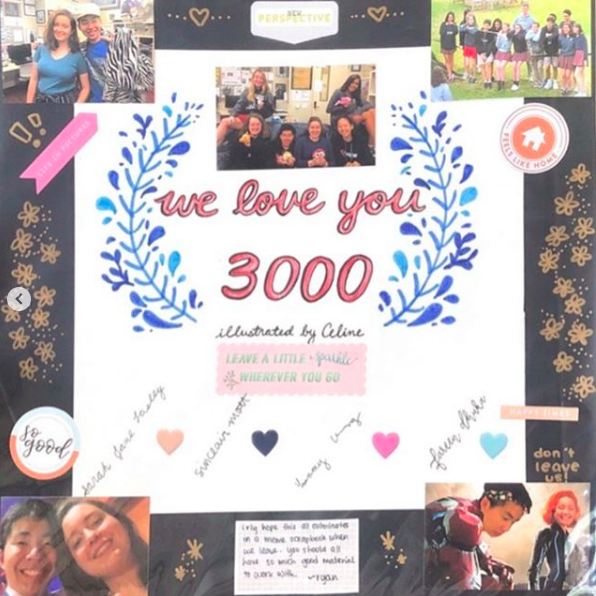 The Online Section Editors spent so so much time on this lovely scrapbook, which contains photos, quotes and memes from this year.