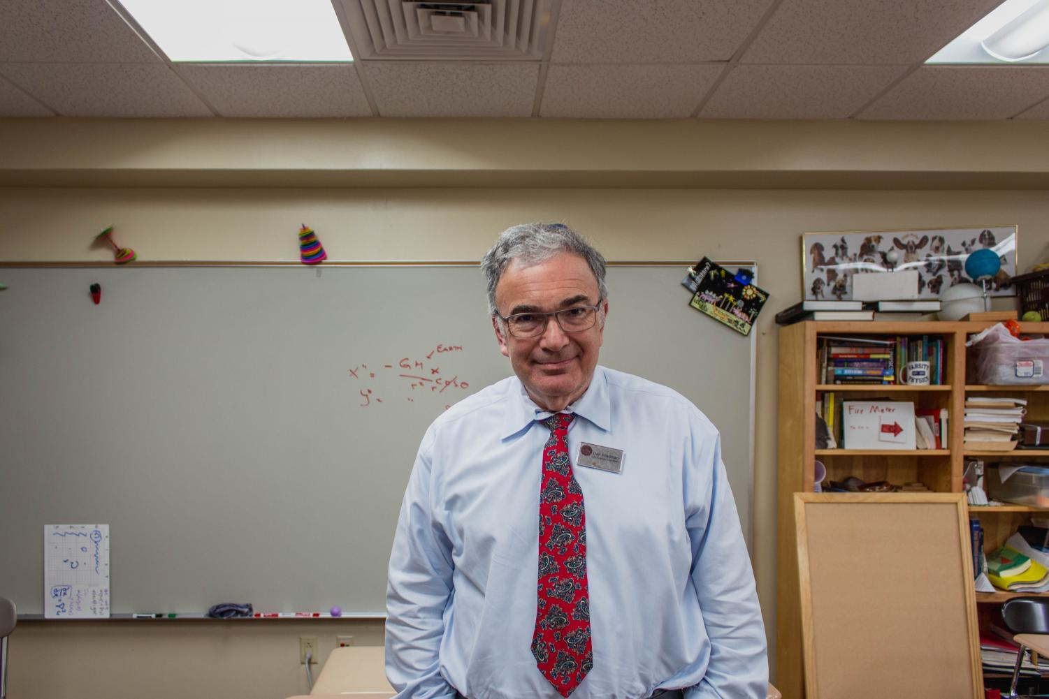 Daniel Friedman, a beloved Upper School math teacher, received the 2019 Lamp of Knowledge Award earlier this year.