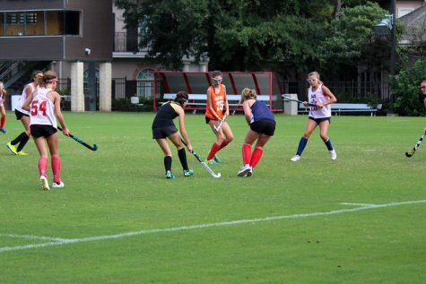 Backpacks were stolen on Sept. 5 from the pavilion at Caven Field during a field hockey practice.