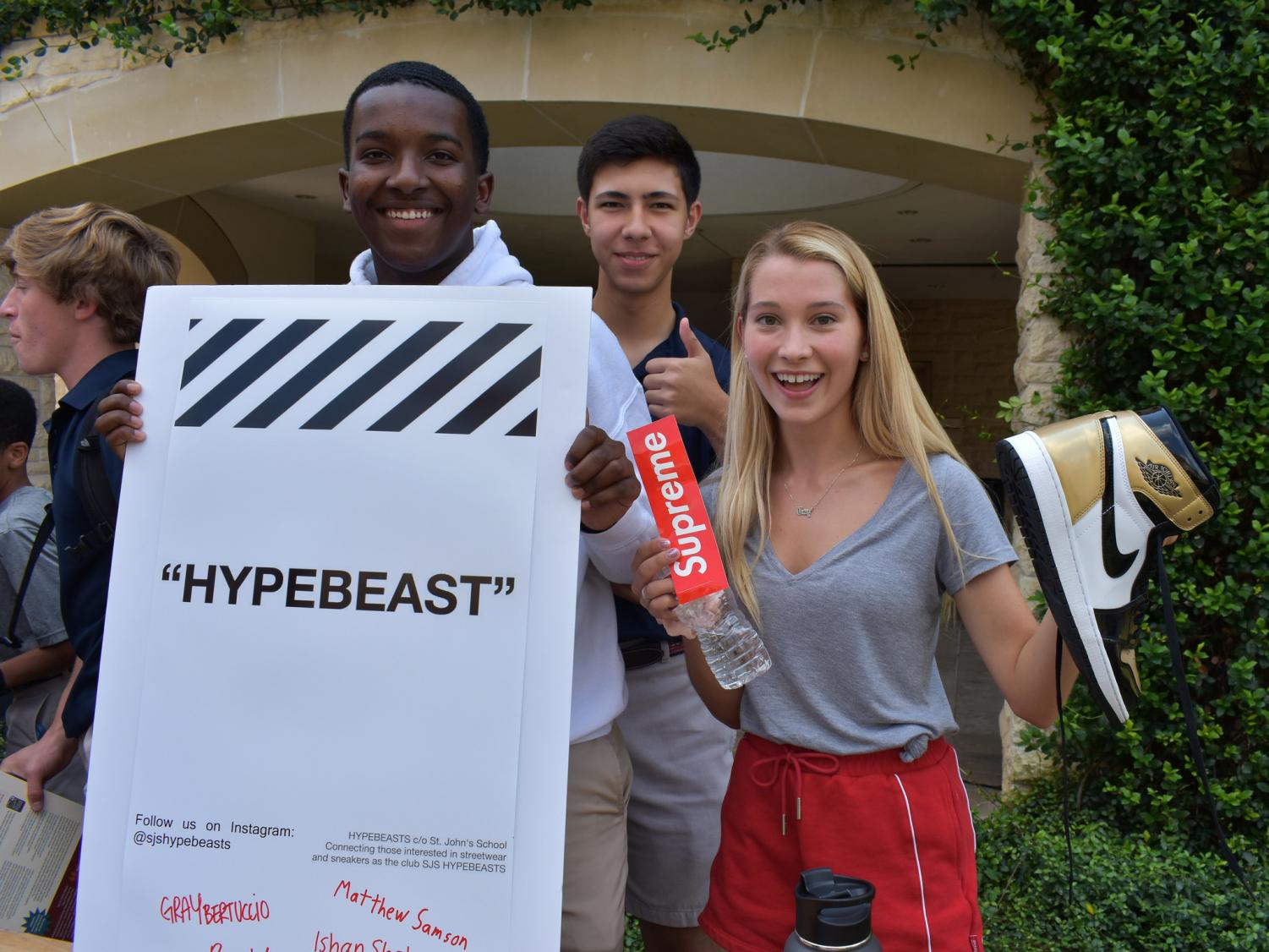 Hypebeast+Club+attracts+new+members+and+sneakerheads+with+their+Club+Fair+setup.