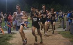 Boys' and girls' cross country teams compete in Friday Night Lights