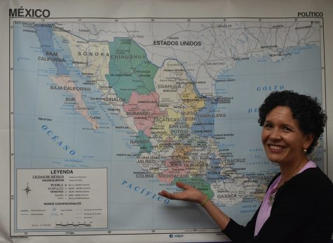 Spanish teacher Raquel Gaytan joins the world language department.