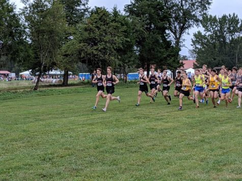 Boys' cross country competes in Charlottesville, Virginia