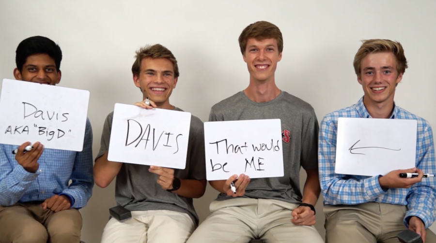 Video: 2019 fall captains play The Newlywed Game