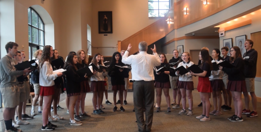 "Special Music: Kantorei performs ""Hark, I Hear the Harps Eternal"""