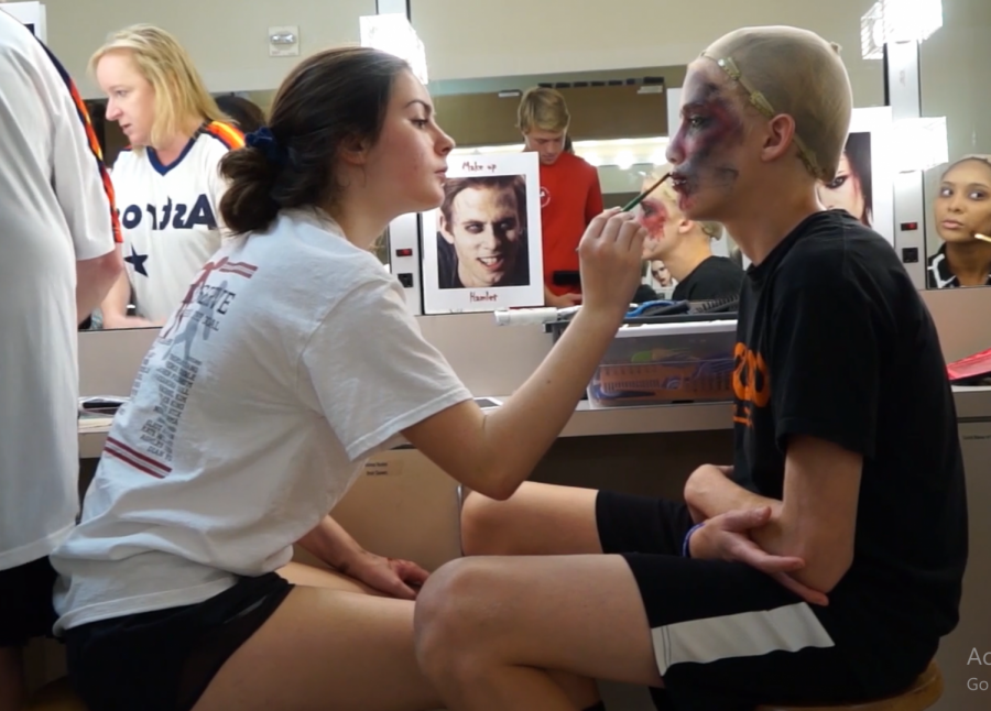 Video: Behind the scenes of the Fall One Acts