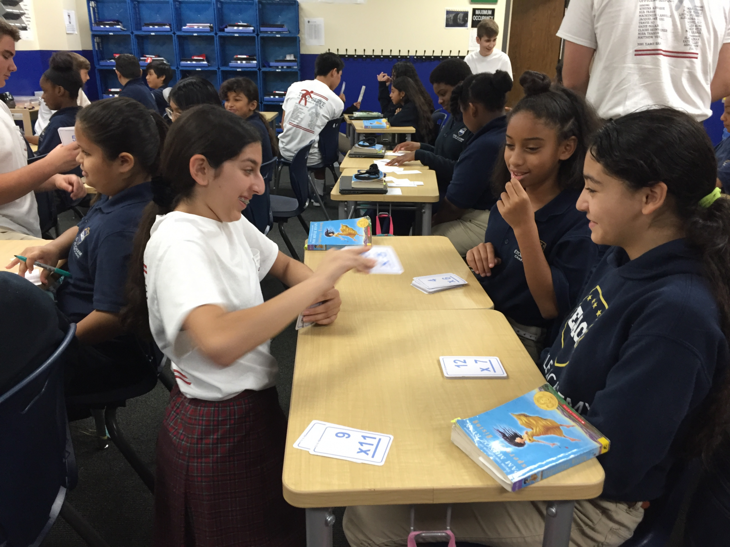 Many freshman advisories volunteered at other schools, including Klein Head Start and Etoile Academy.