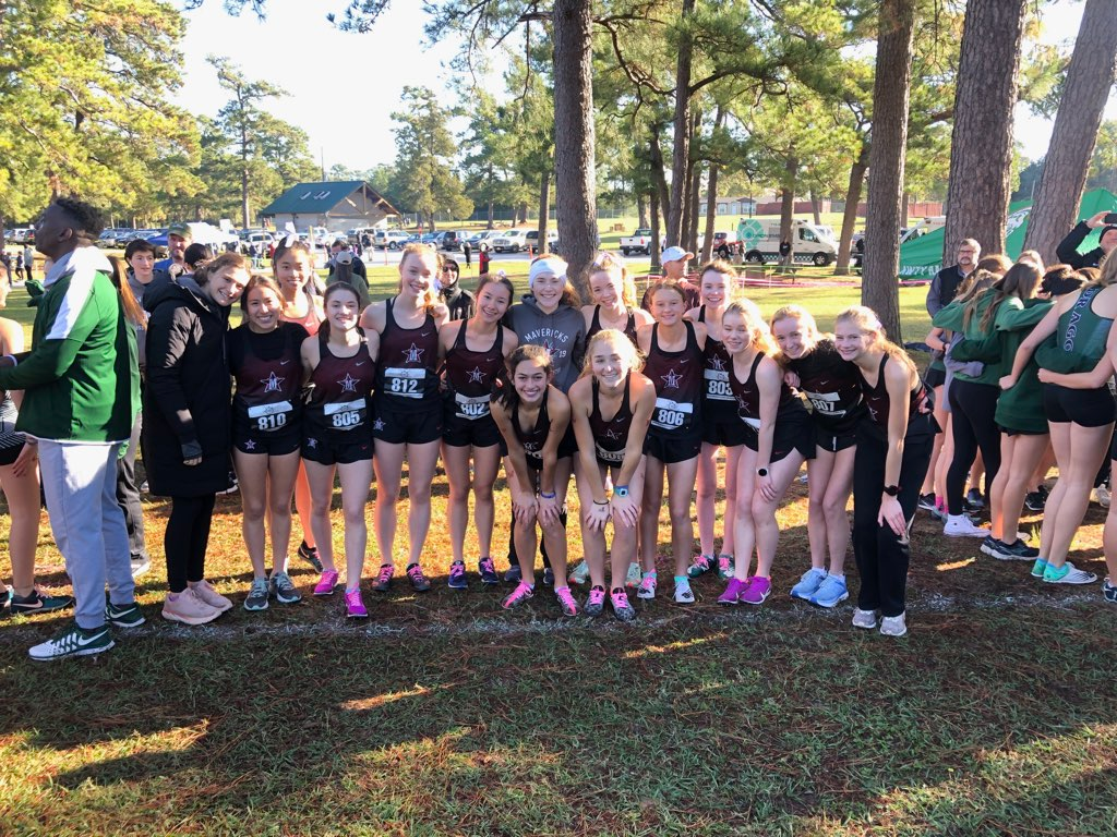 The girls' cross country team focused on personal improvements and teamwork this season, resulting in third place at SPC.