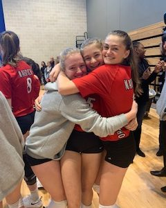 Girls' Volleyball: Persistence Aces Success