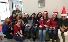 Kantorei carols at Texas Children's Hospital
