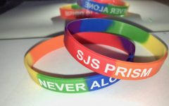 On Dec. 4, PRISM passed out bracelets at their Mini Pride Day celebration.