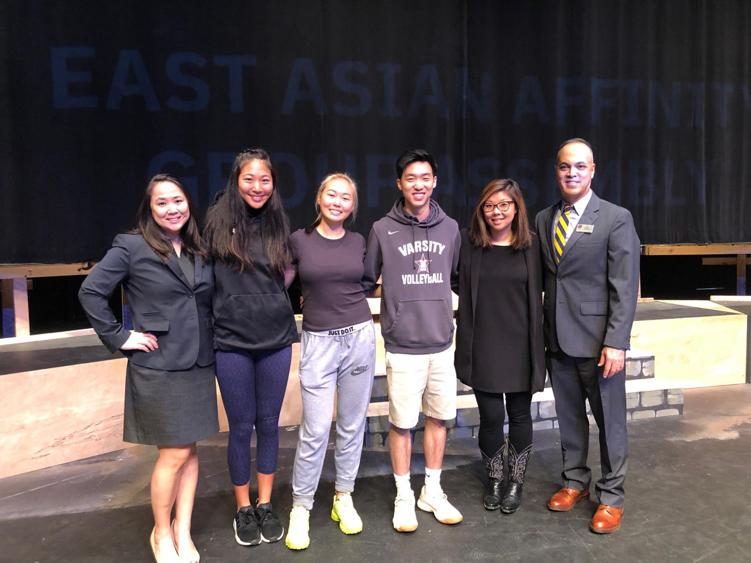 EAAG officers invited Justice Frances Bourliot and Audrey Chang to speak at the affinity group's assembly.
