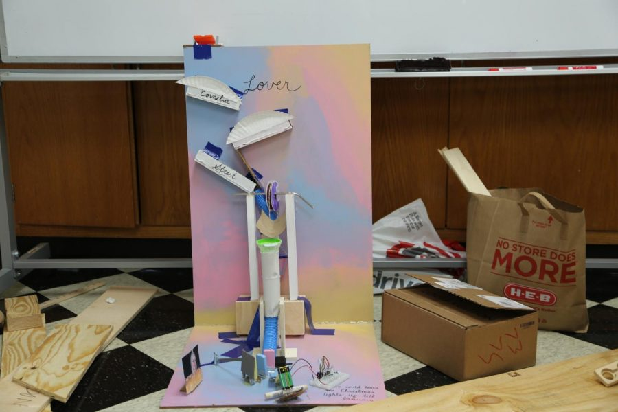 Some students designed their projects based on themes, such as Taylor Swift's latest album: