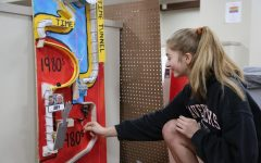 Juniors design Rube Goldberg Machines: Photo Gallery