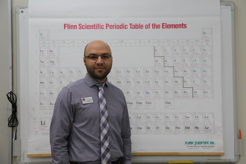 Get to know chemistry teacher Mahmoud Abdalrahman!