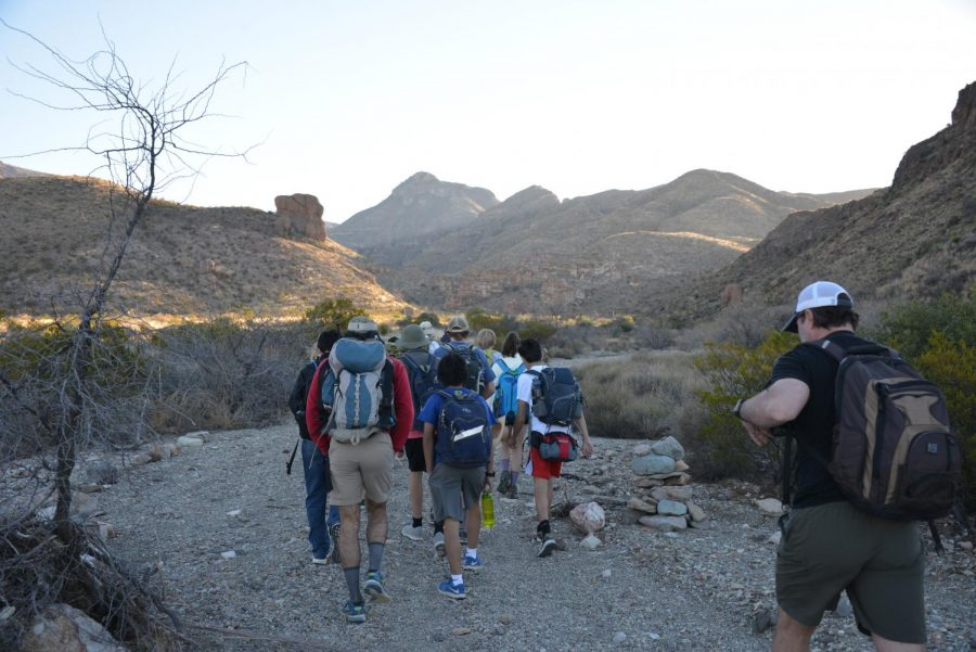 Seniors take on the role of counselors at the annual eighth grade Big Bend trip to revisit the camp or experience a new opportunity.