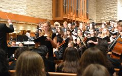 Upper School ensembles perform in annual Choral-Orchestral Festival