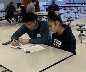 Upper School volunteers tutor at-risk students in the Fifth Ward area