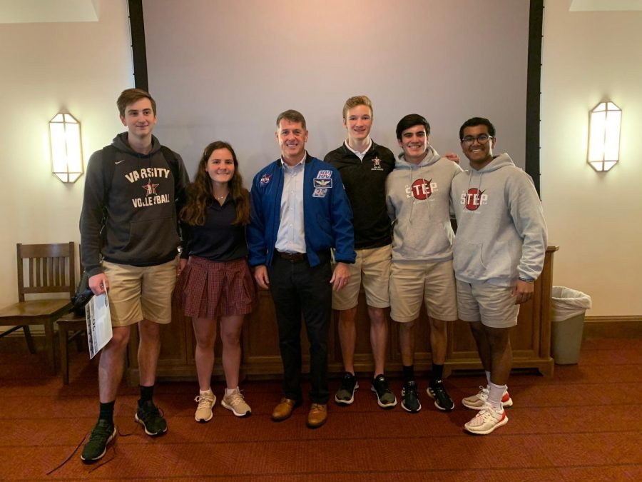 On Feb. 18, NASA astronaut Robert S. Kimbrough spoke about his experience on the International Space Station as a Space, Technology, Economics and Policy club speaker.