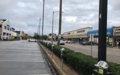Rice Village parking lots, stores and restaurants are empty while Houstonians stay at home due to COVID-19.