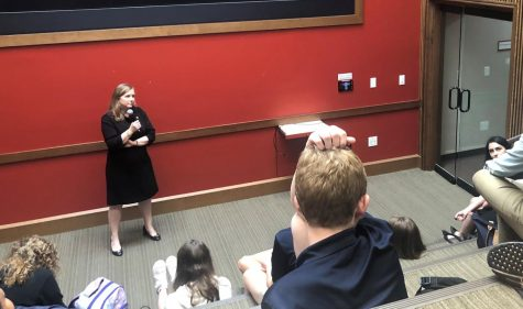 On Feb. 18, Congresswoman Lizzie Pannill Fletcher ('93) spoke to members of SPEC and WHEE about her work on the House Science, Space and Technology Committee.