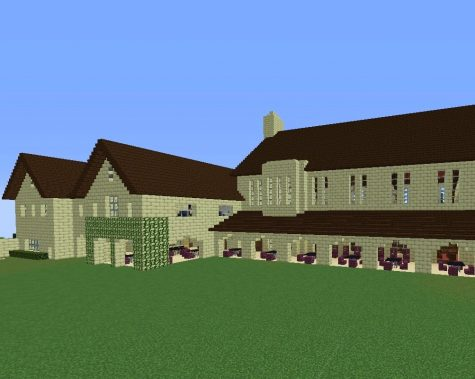16 seniors replicated the Upper School campus on a Minecraft server, hoping to host a Minecraft virtual graduation at the end of the school year.