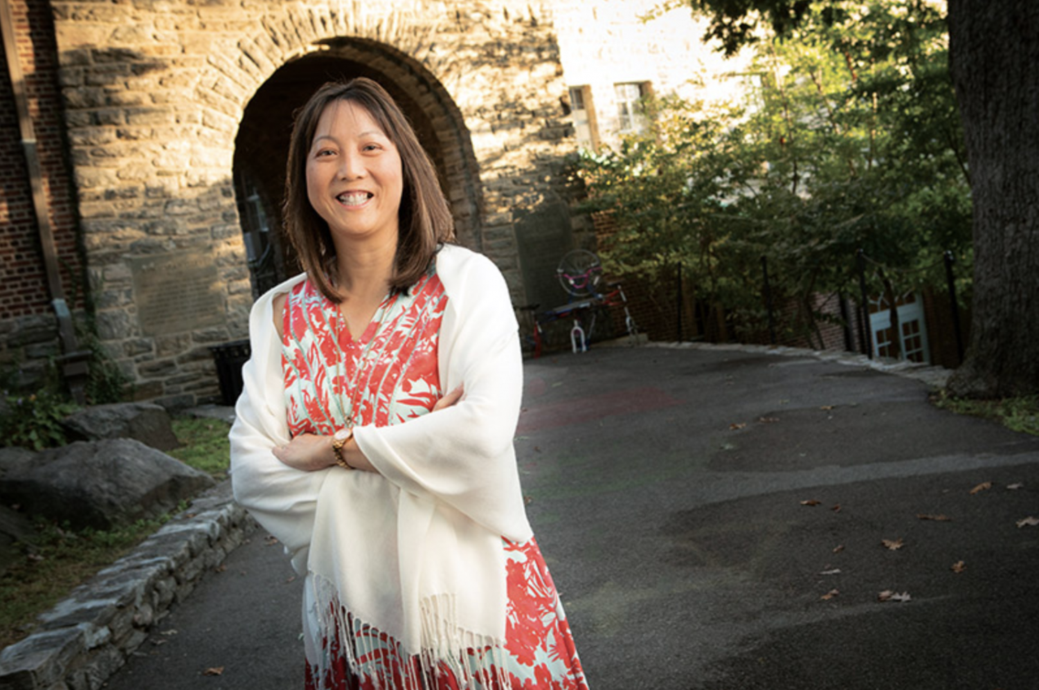 After moving from one COVID-19 hotspot to another to begin her new job in July, new Head of Middle School Chia-Chee Chiu is reimagining what a school leader looks like amidst the challenges of remote learning.