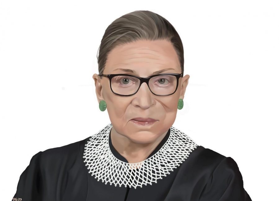 On+Sept.+21%2C+Unity+Council%2C+WHEE%2C+JAG+and+SPEC+hosted+an+online+forum+to+honor+Ruth+Bader+Ginsburg.+