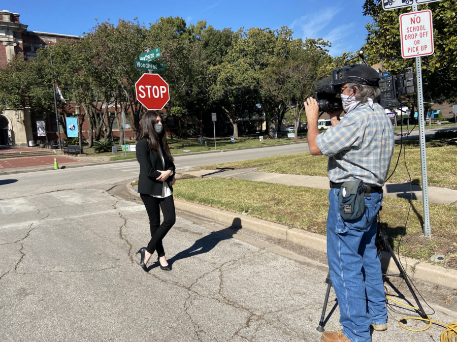 Senior Tasha Savas, who serves as the presiding judge of Precinct 0060, was interviewed by Fox News.