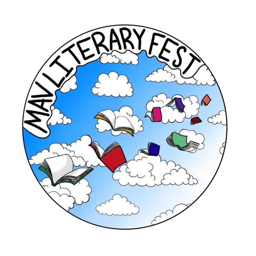 Junior Ananya Agrawal designed  the Mav Literary Fest button.