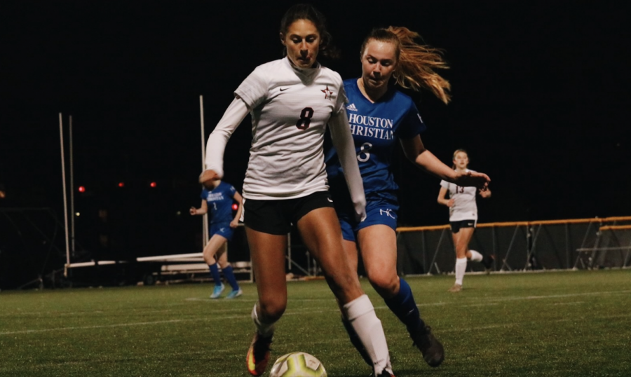Video: Girls' soccer defeats Houston Christian 5-2