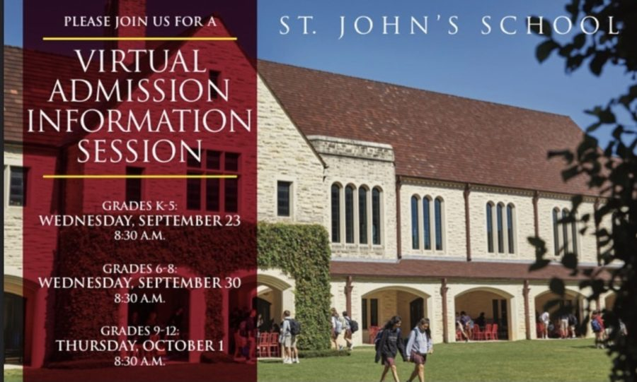 Since St. John's is currently not allowing any outside students on campus, all tours, admission events and interviews are conducted online.