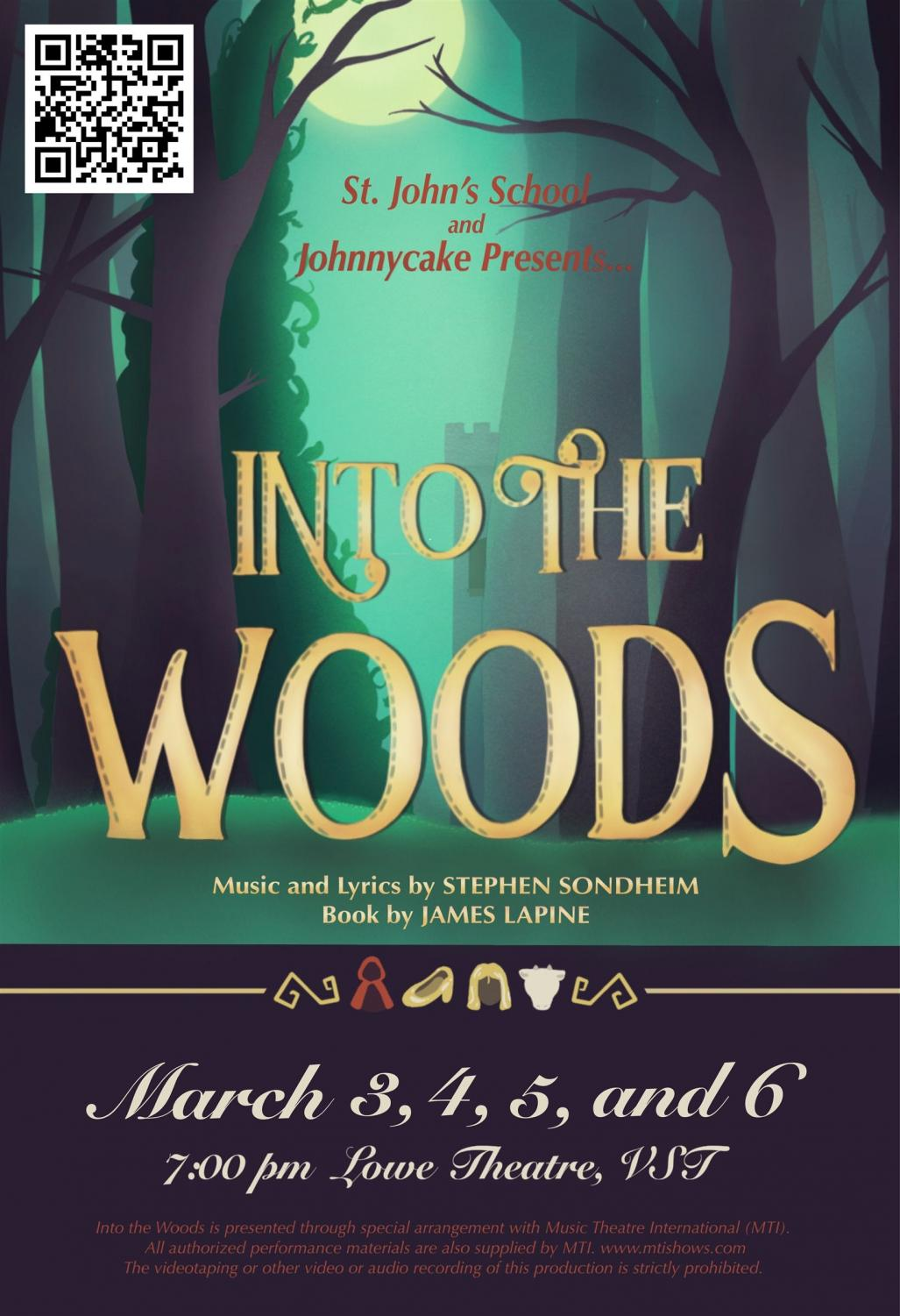 """""""Into the Woods"""" will be performed on March 3-6 in the Lowe Theater."""