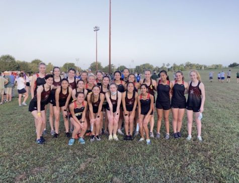 The girls' cross country team placed 7th in the 6A-5A division of the race.