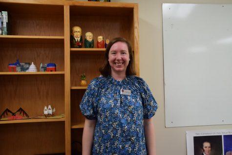 Megan Wilson teaches history.