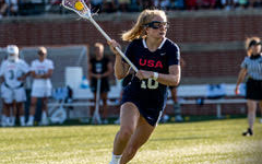 McKone (16) hopes to play for the National Lacrosse Team.
