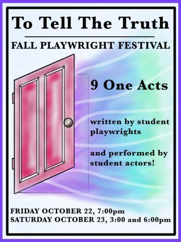 The Playwriting Festival will feature nine plays written and performed by students.